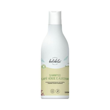 Shampoo Café Verde e Alecrim 500ml - Betobita