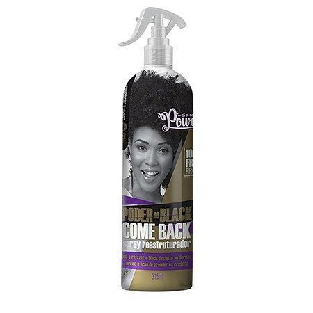 Spray Reestruturador Black Come Back 315ml - Soul Power