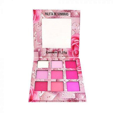 Paleta de sombras Nuances tons rosas LUDURANA