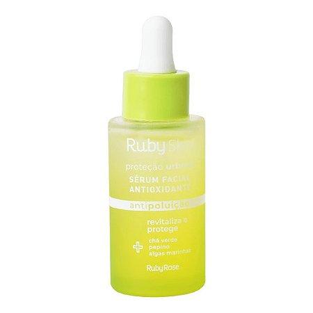 Sérum facial antioxidante – revitaliza e protege - antipoluição - Ruby Rose