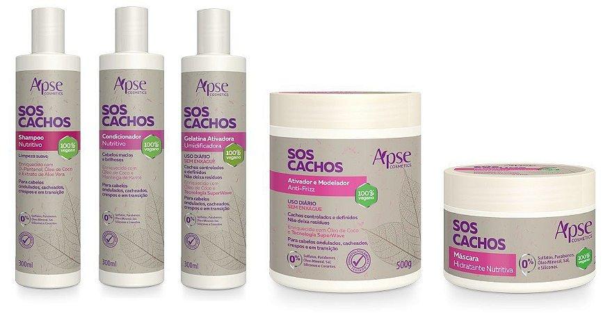 Kit Nutritivo SOS CACHOS - Apse
