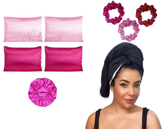 Mega Kit antifrizz - Pink