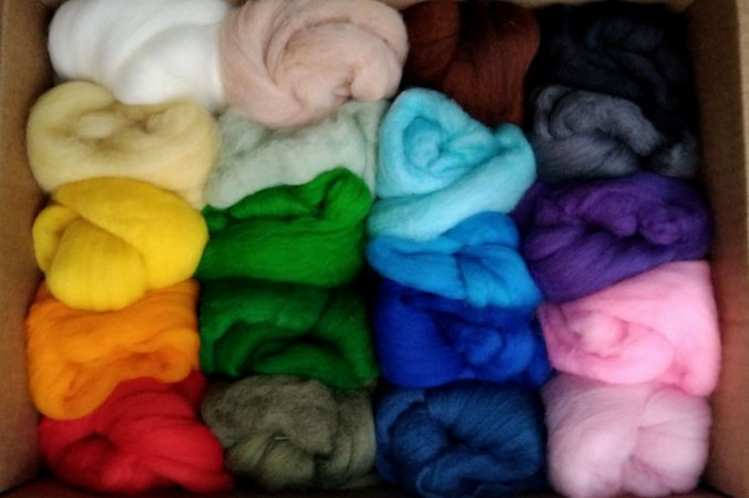 Kit de lã merino - 260g