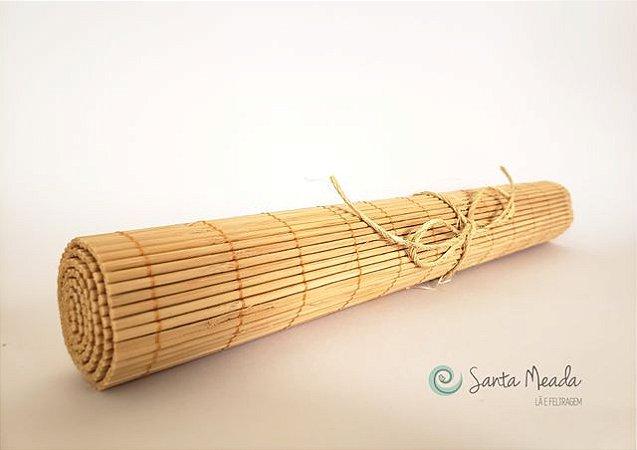 Esteira de Bambu