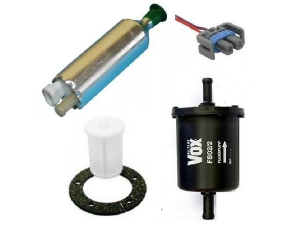 Bomba de Combustivel Monza, Filtro, Pre Filtro, Conector Chicote