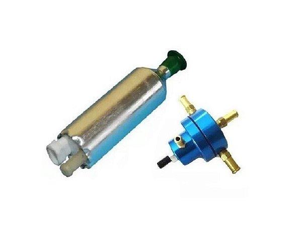 Bomba de Combustivel Externa Flex + Dosador Hp Pequeno