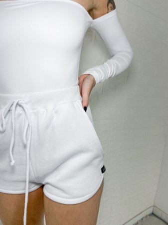 short leandra | branco