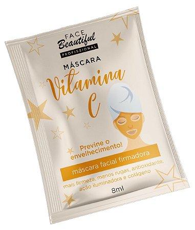 Máscara Facial Firmadora Vitamina C Face Beautiful 10ml