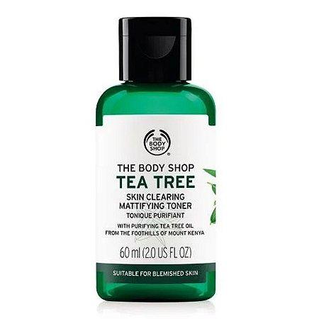 Tônico De Limpeza Facial Tea Tree The Body Shop 60ml