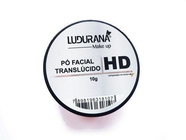 Pó Facial Translucido 10g Ludurana