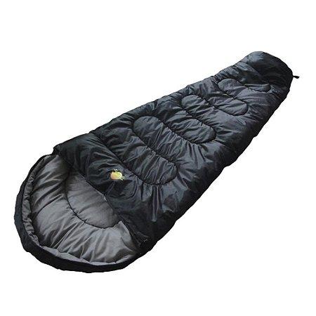 Saco de Dormir Ultralight 5°C à 15°C Guepardo - Preto
