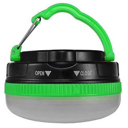 Lanterna de Barraca Led Camping LED-C05 Albatroz Fishing - Verde