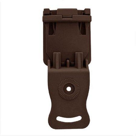 Adaptador de Cintura Em Polímero Bélica - Marrom