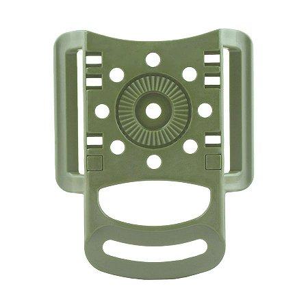 Passador de Cinto em Polímero Bélica - Verde