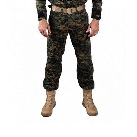 Calça Masculina Combat Camuflada Bélica - Marpat