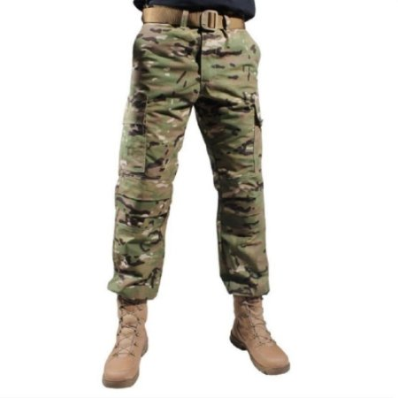 Calça Masculina Combat Camuflada Bélica - Multicam