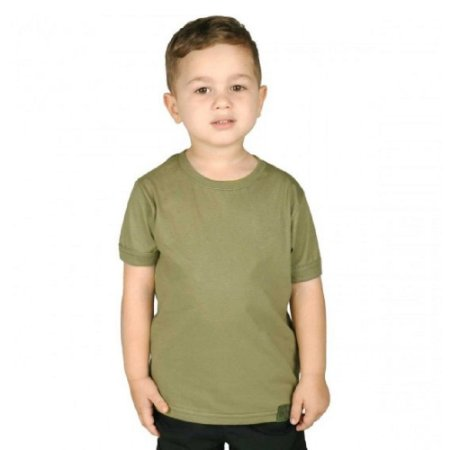 Camiseta Soldier Kids Bélica - Verde Oliva