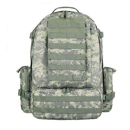 Mochila Militar Invictus Defender 55L - Camuflada Digital ACU