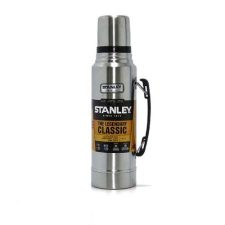 Garrafa Térmica Stanley Legendary Classic 1L - Prata
