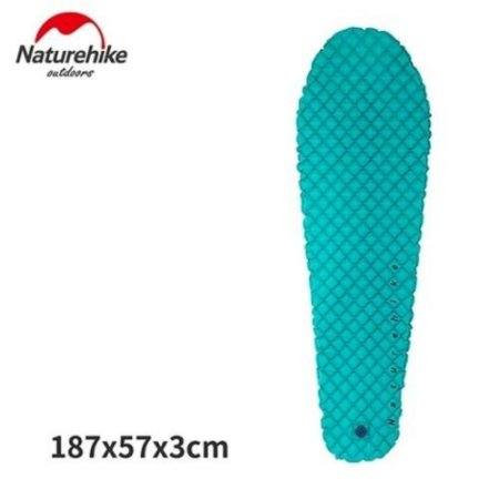 Isolante Inflável Ultralight Mummy Naturehike - Azul