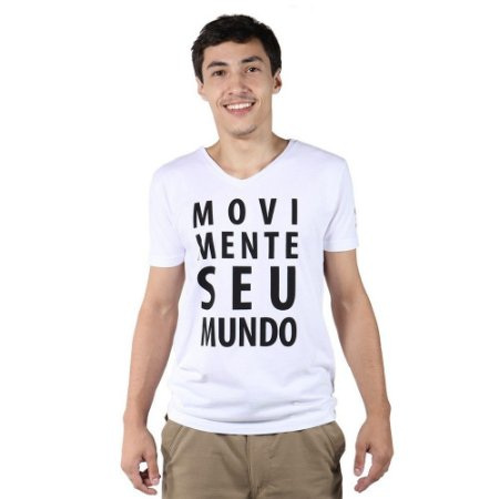 Kit 3 Camisetas Movimente Seu Mundo - Sortidas