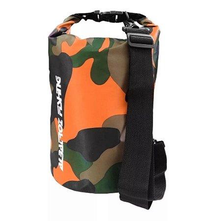 Bolsa Campbag Impermeável e Térmico Albatroz Fishing 30L Camuflada - Laranja
