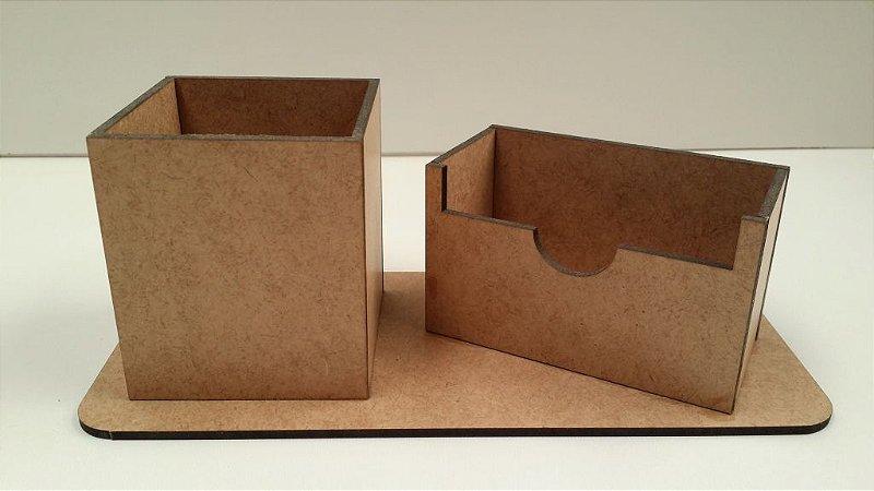 Porta Caneta e Cartão