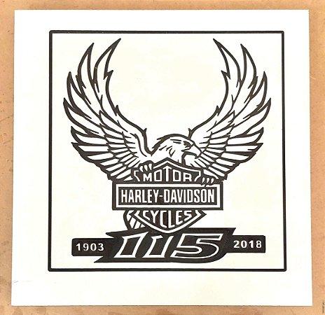 Harley Davidson com Águia