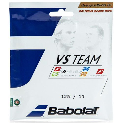 Corda Babolat VS Team Tripa Natural 17l 125mm - Set