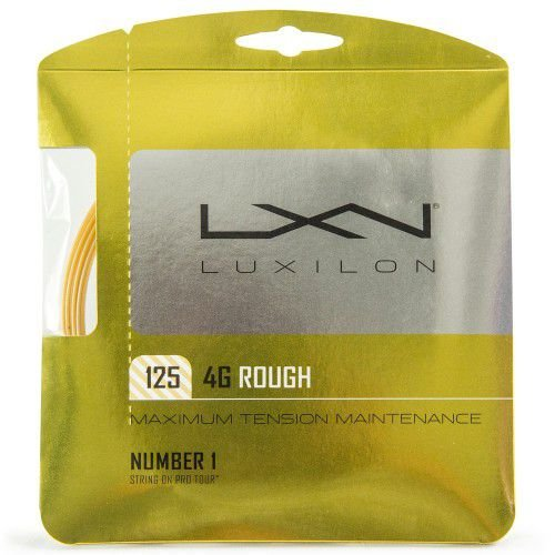 Corda Luxilon 4G Rough 16L 1.25mm - Set Individual