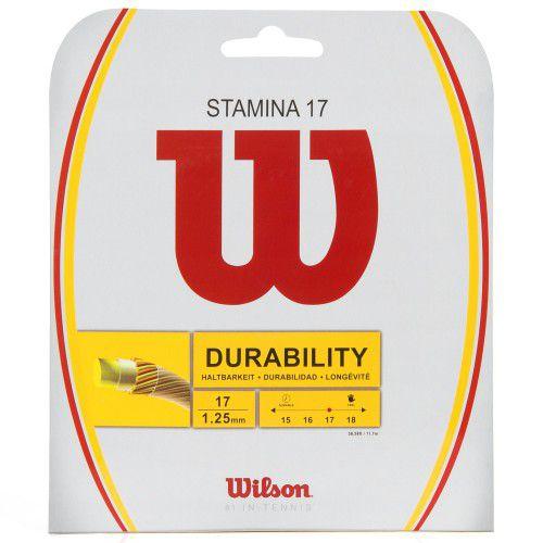 Corda Wilson Stamina 17 1.25mm - Set Individual