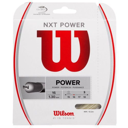 Corda Wilson Nxt Power 16 1.30mm Natural - Set