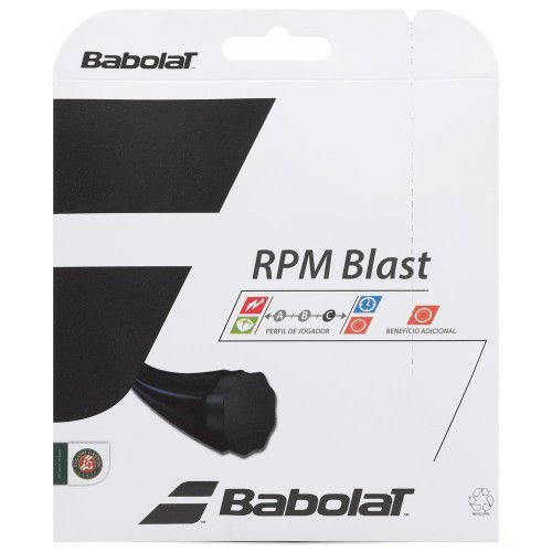 CORDA BABOLAT RPM BLAST 1.20MM PRETA - SET INDIVIDUAL