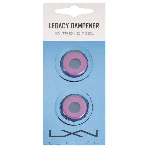 Antivibrador Luxilon Legacy Dampener Lilás - Cartela com 2 Unidades