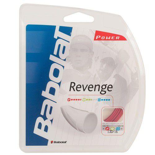 Corda Babolat Revenge 15 1.30mm Vermelha