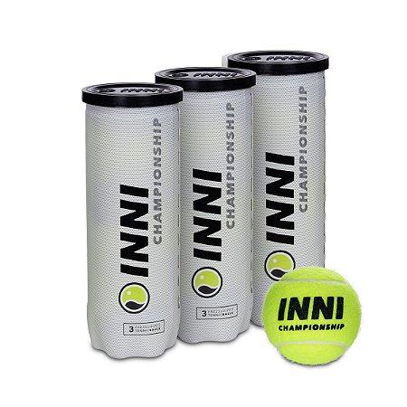Bola De Tênis Inni Championship Pack 3 Tubos