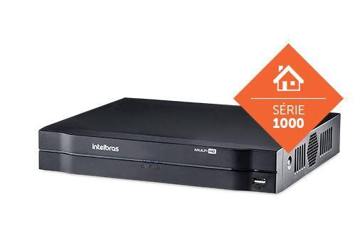 DVR - Gravador digital de vídeo 4 canais MHDX 1104 | Intelbras