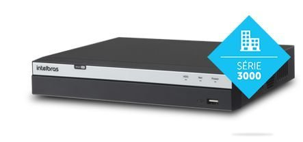DVR - Gravador digital de vídeo 16 Canais Multi HD Full HD MHDX 3116 | Intelbras