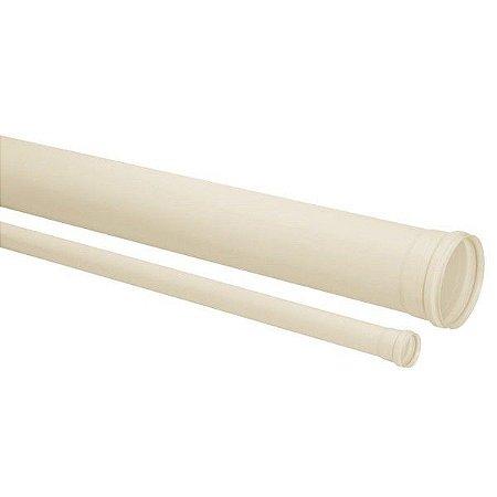 Tubo PVC Esgoto SN DN 100MMX6M Amanco
