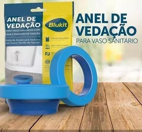 Anel de Vedação Blukit para Vaso Sanitário com Guia