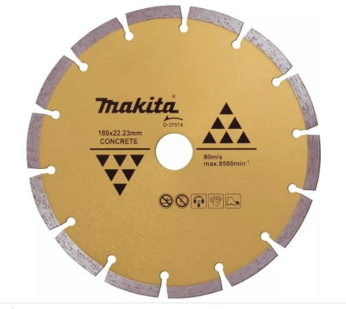Disco Diamantado Segmentado MAKITA 7'