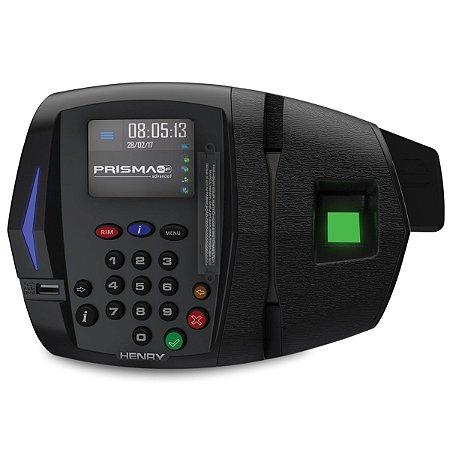 Relógio Ponto Henry Prisma ADV R2 Bio + proxy(Leitor Verde)