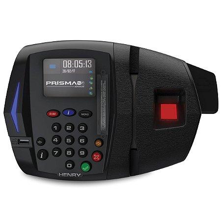 Relógio Ponto Henry Prisma ADV R2 Bio + Proxy (Leitor Vermelho)