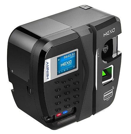 Relógio Ponto  HEXA Advanced A Bio + Barras + Prox + Milfare (Leitor Verde)