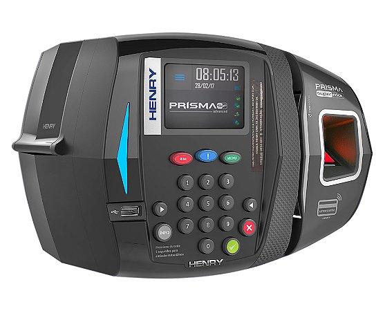 Relógio de Ponto Prisma SF ADV R1 Bio + Mifare + proximidade RFID + Barras (Leitor Vermelho)