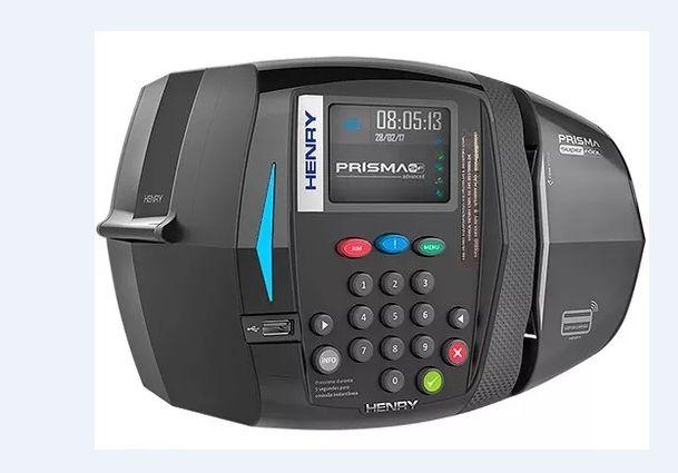 Relógio de Ponto Prisma SF ADV R5 Barras + Prox