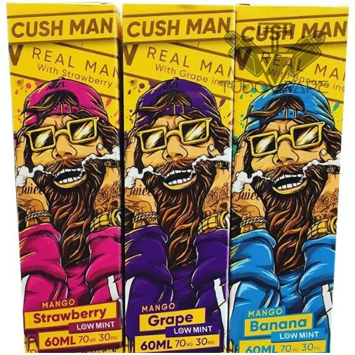 Nasty Juice Cush Man 60ml - Strawberry / Grape / Banana UND