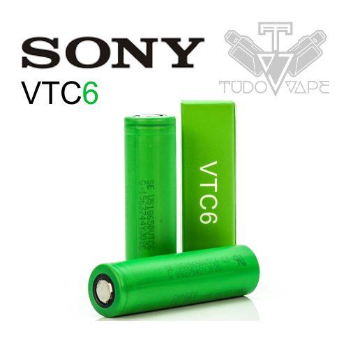 Bateria  VTC6 Sony 3000mAh - Tamanho 18650