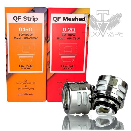 Coil QF Strip / Meshed - Vaporesso Resistência Luxe Skrr