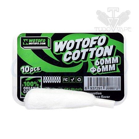 Algodão Wotofo Cotton 60mm Ø6mm 10und
